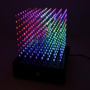 Световой куб своими руками из